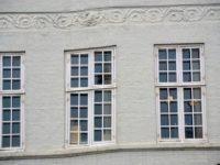 Det nedsynkede hus på voldkanten, hjørnet af Kronprinsessegade og Gothersgade